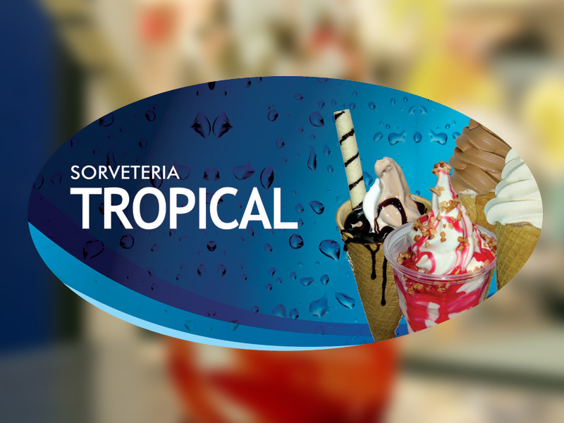 Kiosk Sorveteria Tropical
