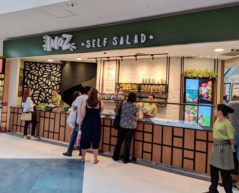 Amáz Self Salad